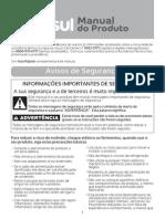 BR Manual W10628656 Manual de Instruções Consul