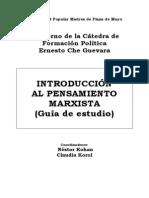 Introduccion Al Pensamiento Marxista (Cátedra Che Guevara)