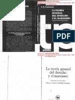 Pashukanis - La Teoria General Del Derecho y El Marxismo 1