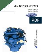 Manual de Instrucciones Del Motor Diesel Marino Mini-74 _ SOLÉ DIESEL