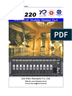 DX 1220 Product Manual Www.powerlight.es