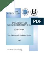 Situación de Los Recursos Hídricos - Chile