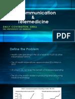 telecommunication  telehealth emily covington