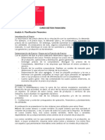 Resumen Curso Gestion Financiera