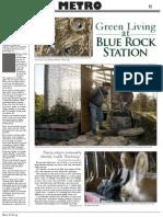Green Living at Blue Rock Station