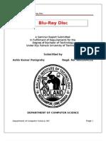 Seminar Report on Blu-ray Disc
