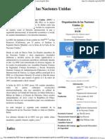 Organización de Las Naciones Unidas - Wikipedia, La Enciclopedia Libre