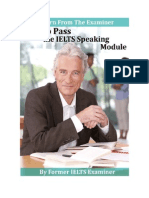 How to Pass the Ielts Speaking Module