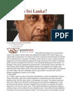 Quo Vadis Sri Lanka