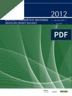 Relatorio Final BEN 2012
