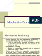 Merchandise Procurement