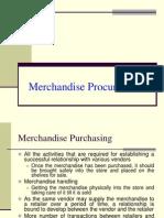 Merchandise Procurement