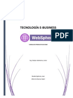 Websphere e Business