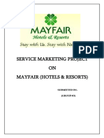 Service Quality of Mayfair Lagoon & measuring its zone of tolerance