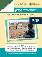 Folleto Directores Gestion Inclusiva Calidad