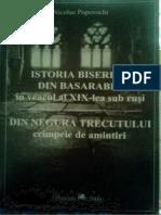 Popovschi - Istoria Bisericii Din Basarabia