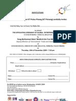 You're Invited to Officiating Ceremony of Global Entrepreneurship Week 2009 - Northern Corridor @ USM (19nov09 - 8p)