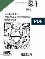 19 WB-2002_Handbook for Preparing Resettlement Action Plan