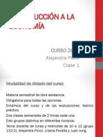 Clase 1 - Escasez, Elección y Costos