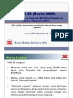 pedoman standar akuntansi keuangan 58