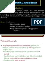 Psikologi Abnormal