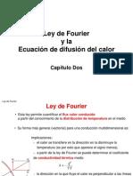 La ley de Fourier y la ecuación de calor