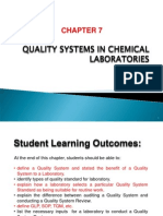 Chm561 Chapter 7_quality Systems in Chemical Laboratories-reviewed
