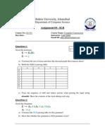 Assignment 04 SLR
