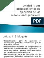 Clase 3 - Ejecucion de Sentencias y Juicio Ejecutivo