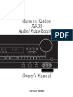Harman Kardon AVR35