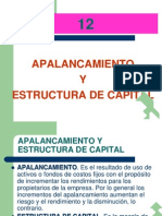 Capítulo 12 - Apalancamiento y Estructura de Capital