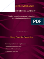 Marcotte Mechanics / orthodontic courses by Indian dental academy
