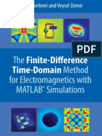 Elsherbeni the FinThe Finite-Difference Time-Domain Method for Electromagnetics with MATLAB R  Simulationsite Difference@MATLAB