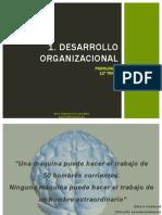 1Desarrollo organizacional