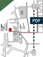 Tachikawa Immigration Office Map - Large