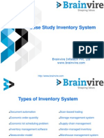 Case study for Inventory Management System Software