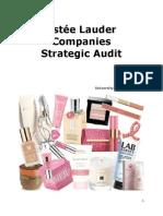 Estee Lauder Strategic Audit