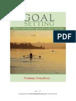 Goal Setting eBook
