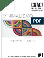 Crac! # 1 Minimalismo