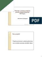 Planiranje Projekta MProject 2007