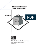 2746eThermal Printer