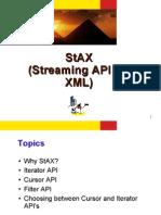 StAX (Streaming API for XML)