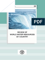 Review of World Water Resources by Country