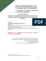 Theorie Constitutionelle Face Aux Mutations Contemporaines Du Droit Public_2008