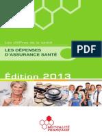 Depliant Les Depenses Dassurance Sante 2013