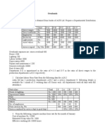 Costing - Practical