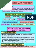 5.3 Bioteknologi Dlm Pertanian