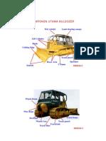 Komponen Utama Buldozer