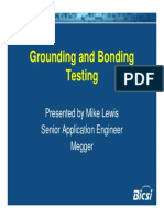 Grounding and Bonding Testing
