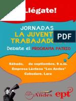 Afiche Juventud Trabajadora